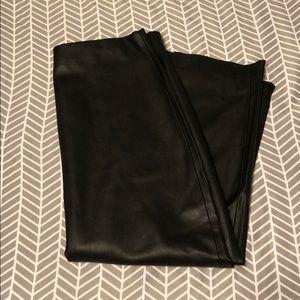 Zara faux leather pencil skirt